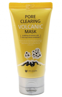 Маска очищающая с вулканическим пеплом MIZON Pore Clearing Volcanic Mask 80г: фото
