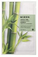 Тканевая маска с бамбуком MIZON Joyful Time Essence Mask Bamboo 23г: фото