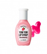 Тинт для губ увлажняющий THE SAEM Saemmul Yum Yum Lip Syrup 03 Strawberry 10гр: фото