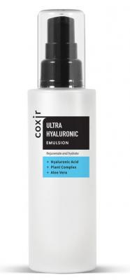 Эмульсия увлажняющая с гиалуроновой кислотой COXIR Ultra Hyaluronic Emulsion 100мл: фото