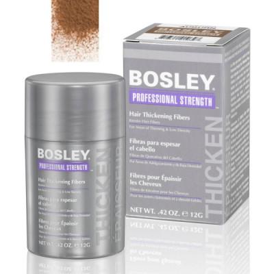 Кератиновые волокна BOSLEY Hair Thickening Fibers светло-коричневые 12г: фото