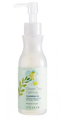 Гидрофильное масло успокаивающее It'S SKIN Green Tea Calming Cleansing Oil 145мл: фото