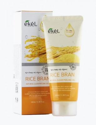 Пилинг для лица с рисовыми отрубями Ekel Peeling Gel Rice Bran 100 мл: фото
