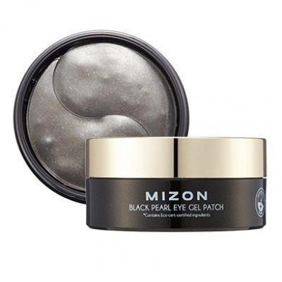Гидрогелевые патчи с экстрактом черного жемчуга MIZON Black Pearl Eye Gel Patch 60шт: фото